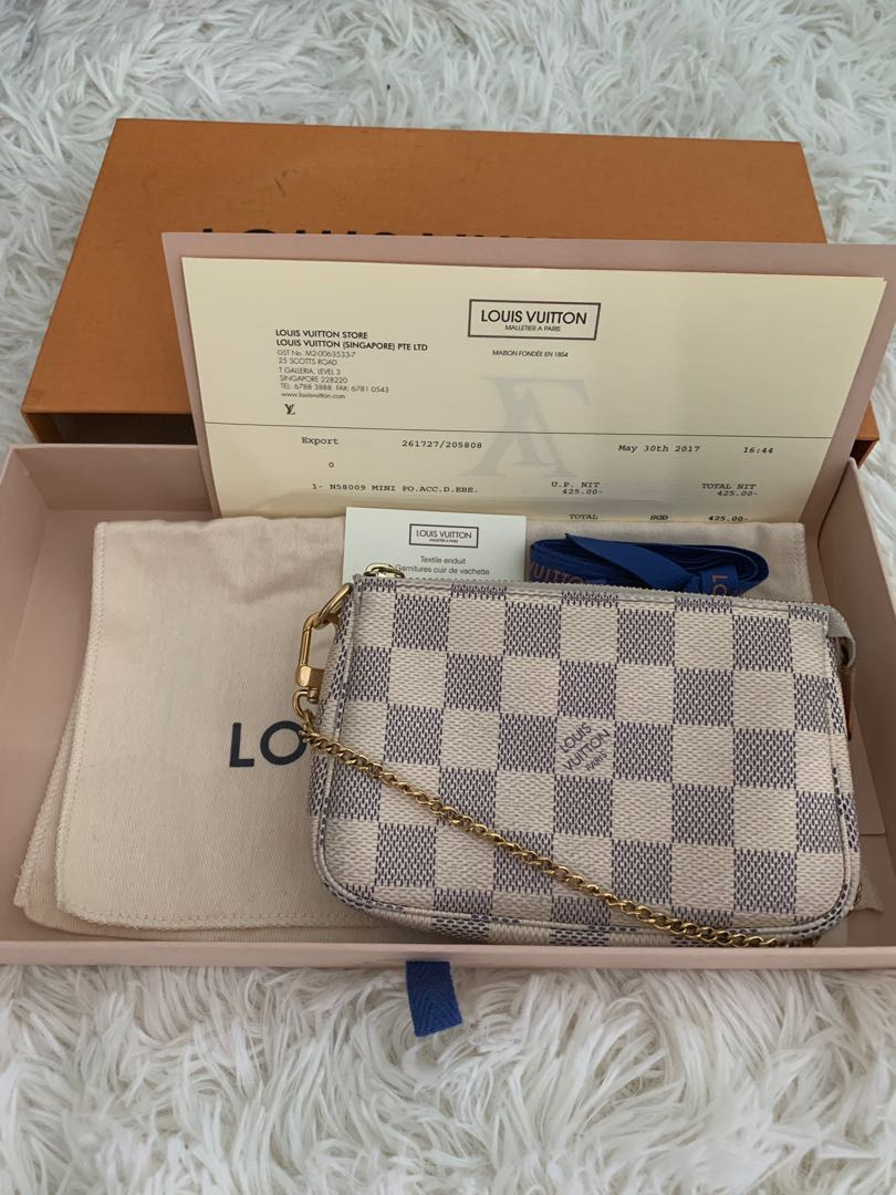 ba41b07696c0 Louis Vuitton mini sling clutch
