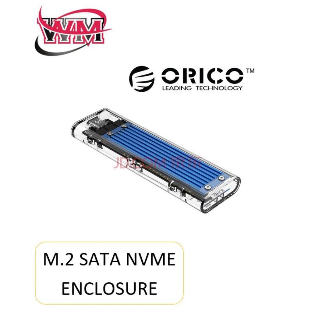 M 2 SATA Nvme SSD ENCLOSURE/CASING, Electronics, Computer