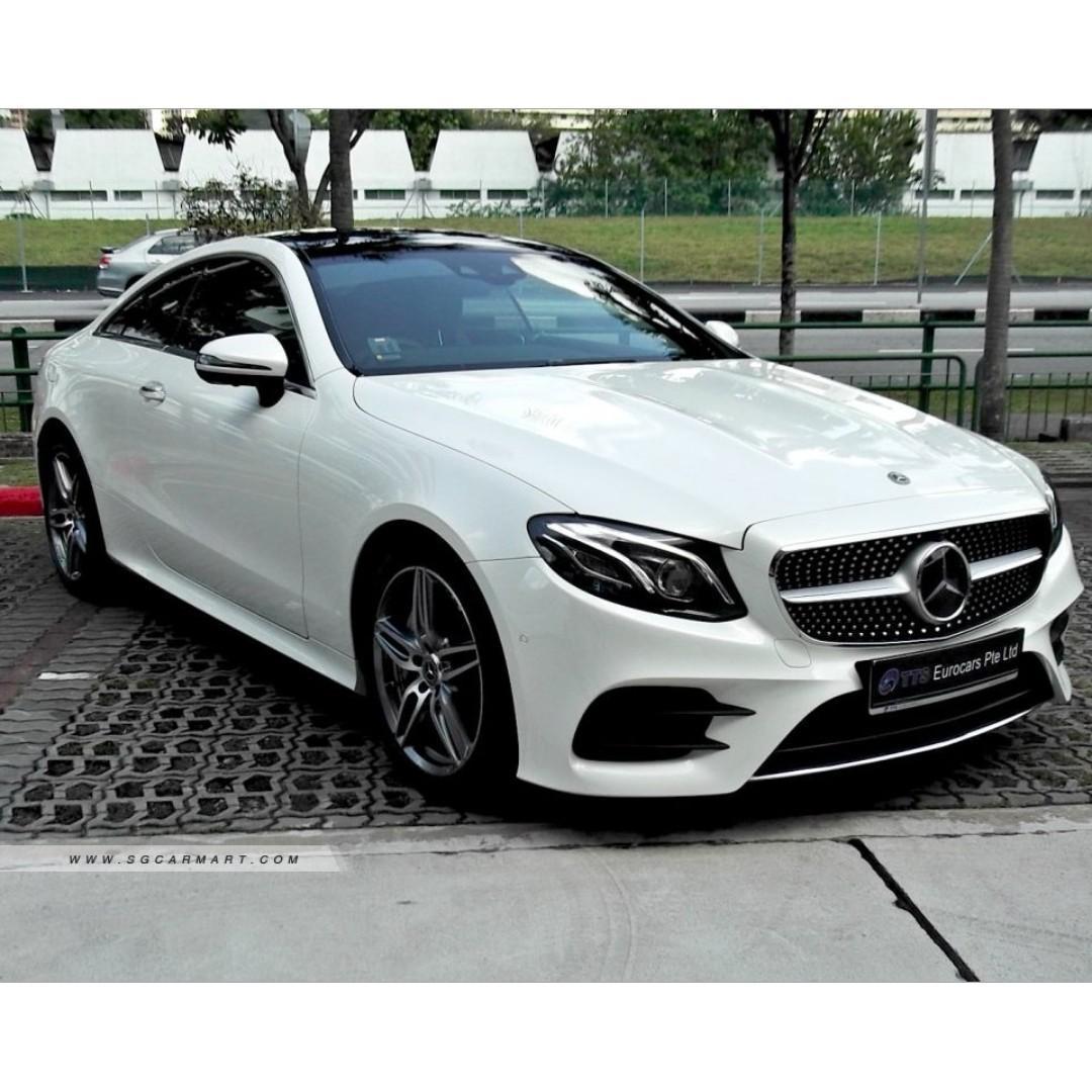 Mercedes-Benz E300 Coupe AMG Line Auto