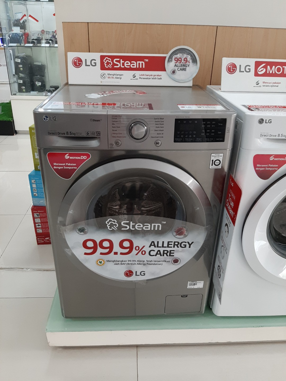Mesin cuci LG 7Kg Cicilan 0% Tanpa Bunga Tanpa CC