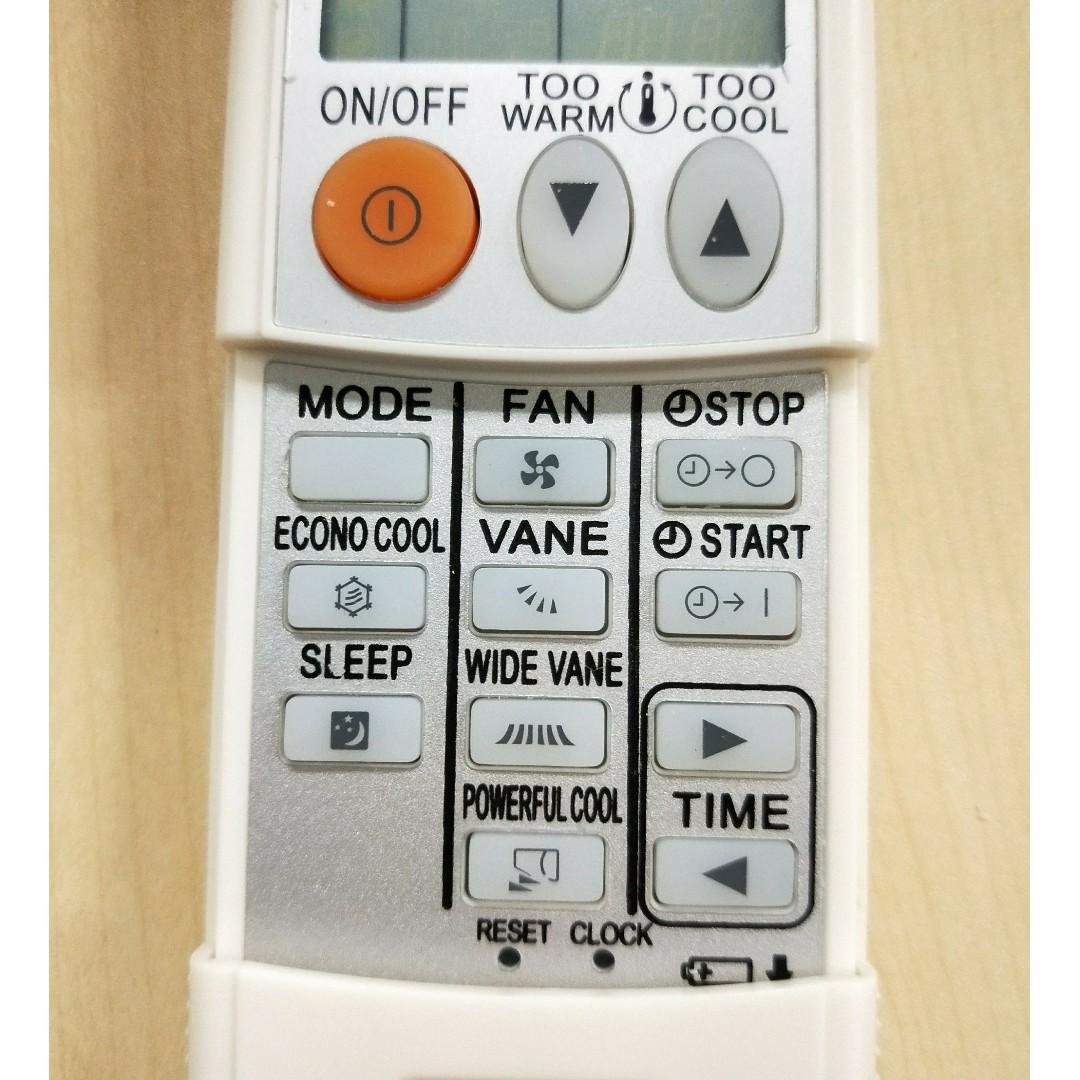 MITSUBISHI Air Conditioner Remote Control KM09A KM)O9B KP06E- MSZGE22VA  MSZ-GE35VA MSZ-GE50VA