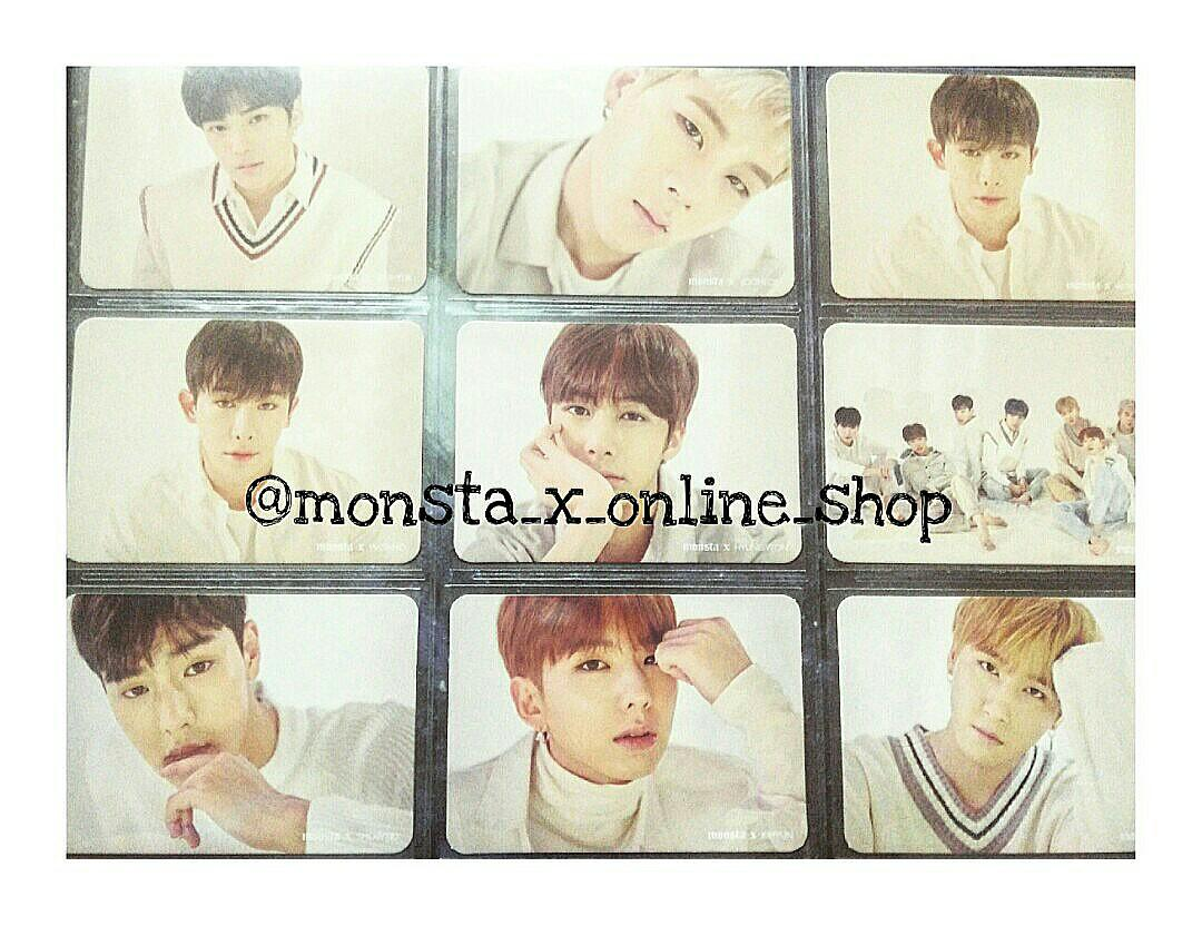 MONSTA X FAN CON : PICNIC ( MONBEBE ONLY ) PHOTOCARD