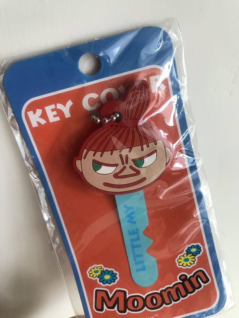 [日本正品💯]moomin 阿美 姆明 key chain key cover little my