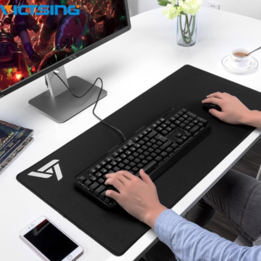[NEW] Extended Gaming Mouse Pad Thick Large Computer Keyboard Mouse Mat
