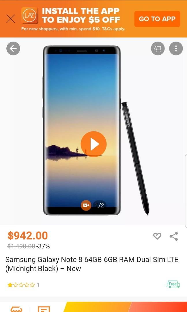 Note 8 warranty left few months