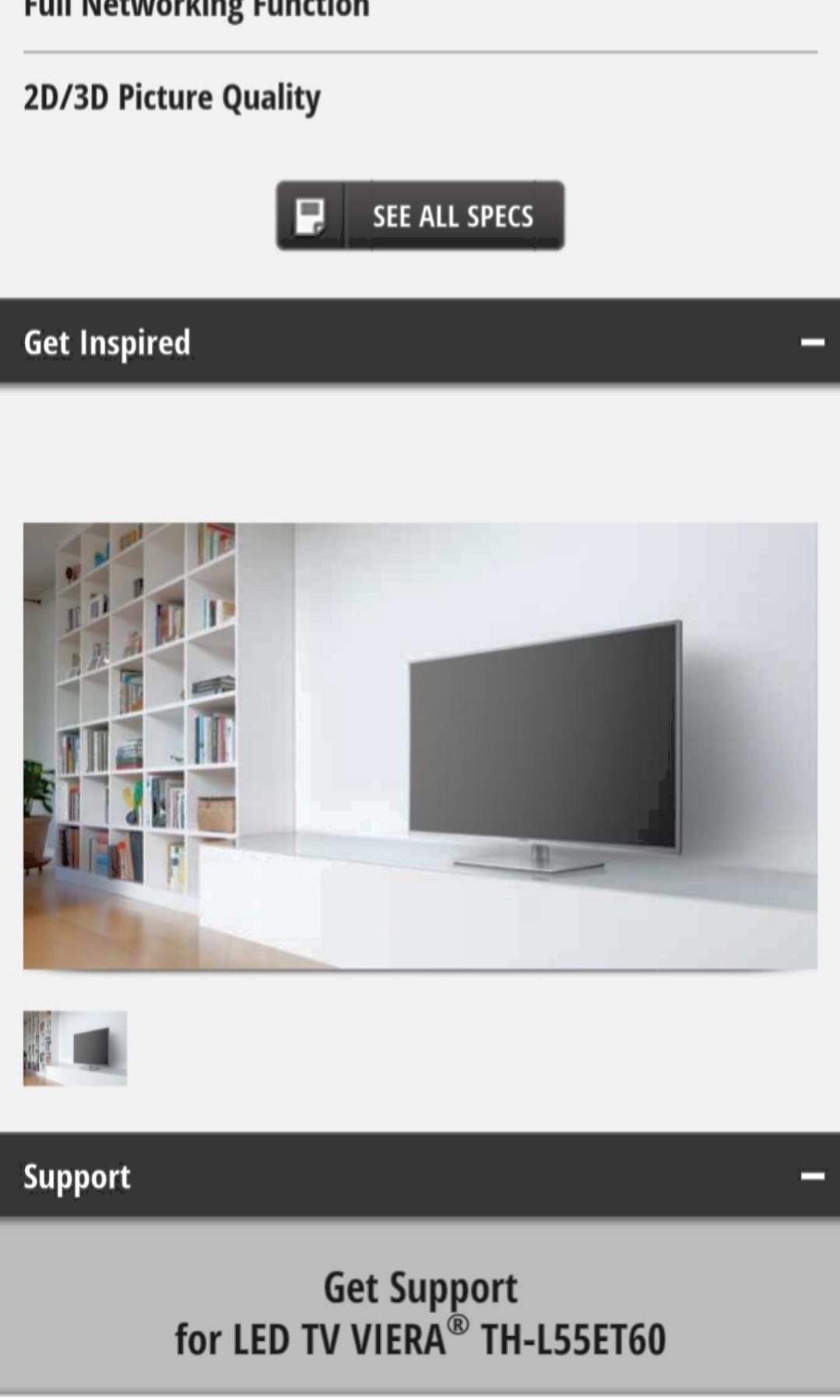 Panasonic 55inch smart TV
