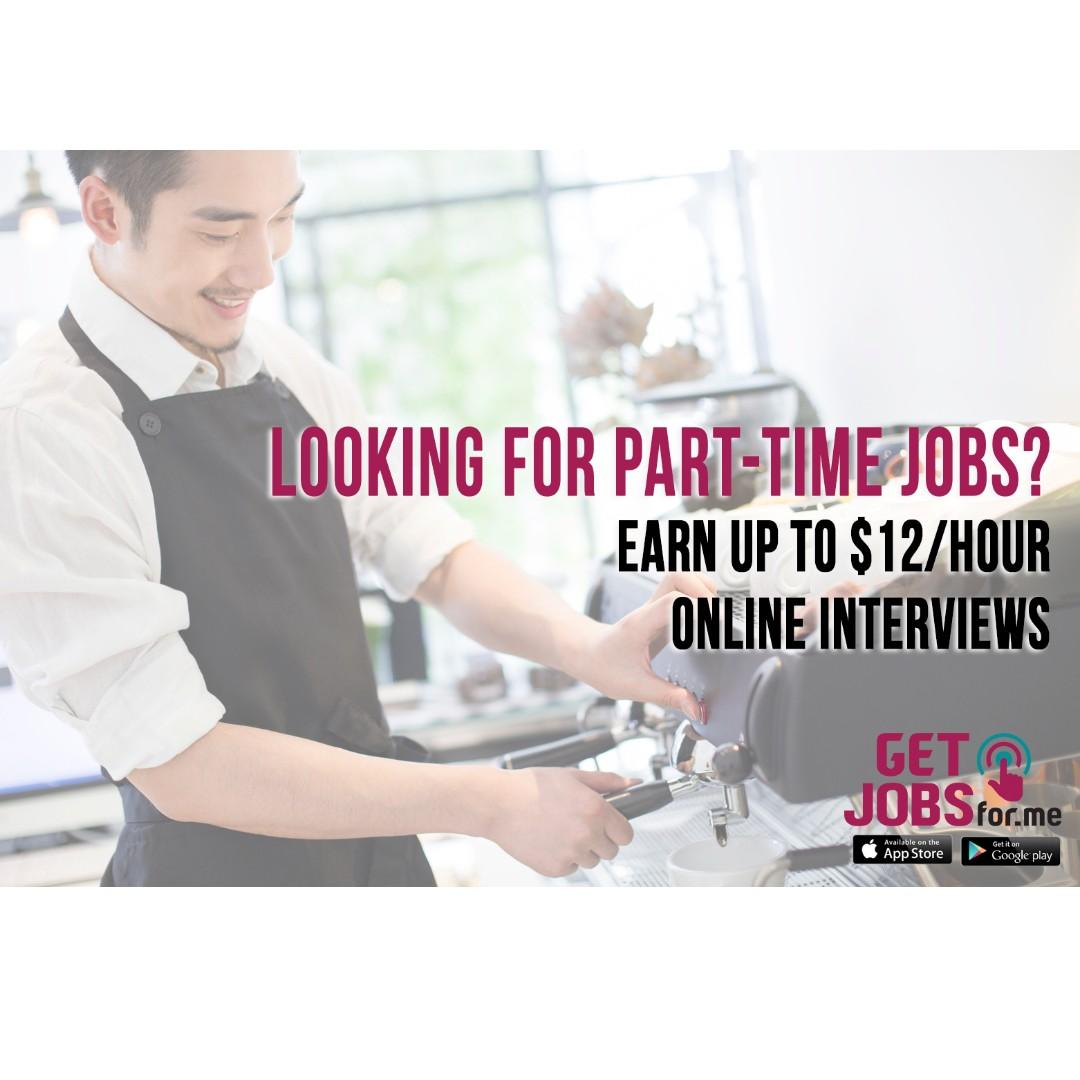 Part Time Job: Banquet Servers needed! Refer and Earn!
