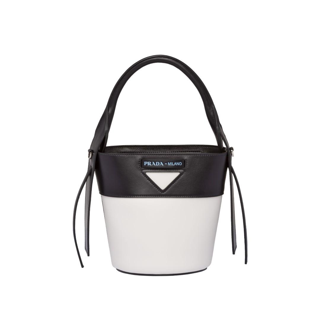 c5d2c94d36e49b Prada Ouverture leather bucket bag, Women's Fashion, Bags & Wallets ...