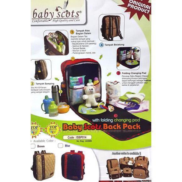 PRELOVED - Original Baby Scots - Tas bayi