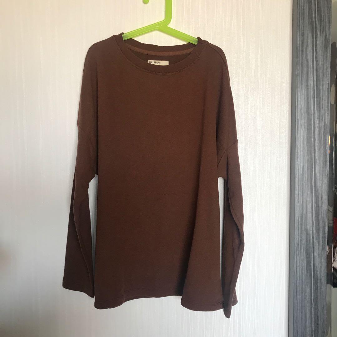 Pull&Bear Brown Sweater