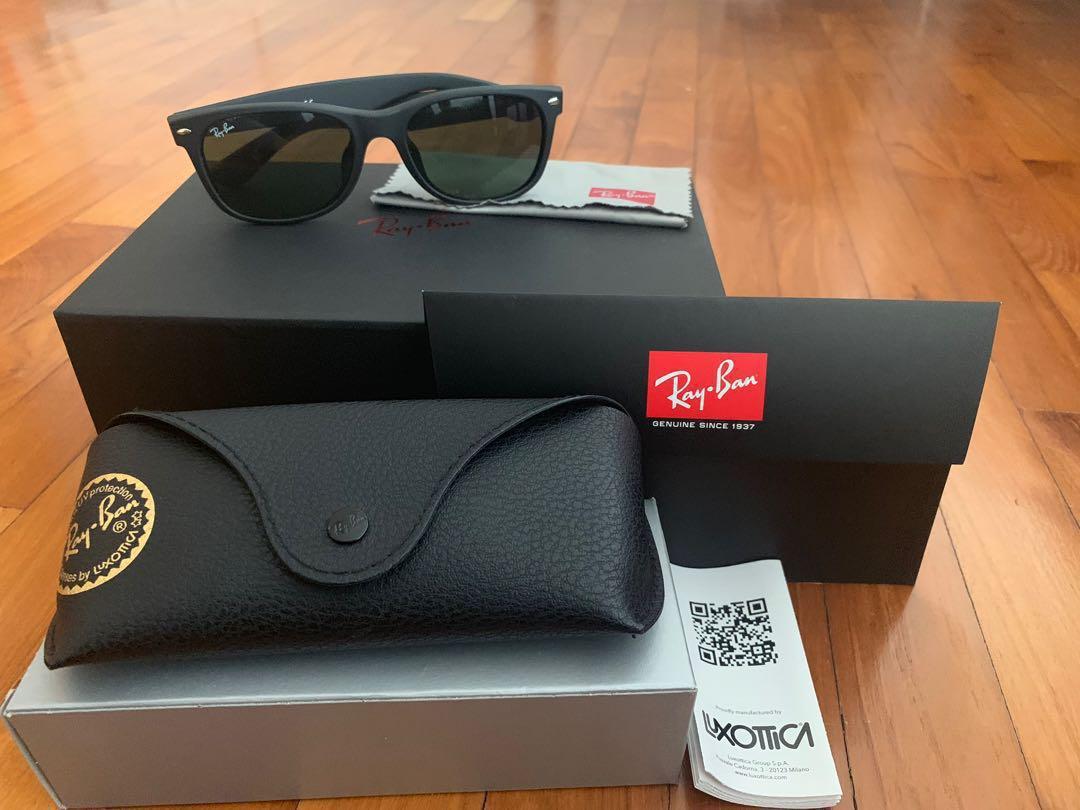 4df5a6a07 Ray-ban New Wayfarer 55mm, Men's Fashion, Accessories, Eyewear ...