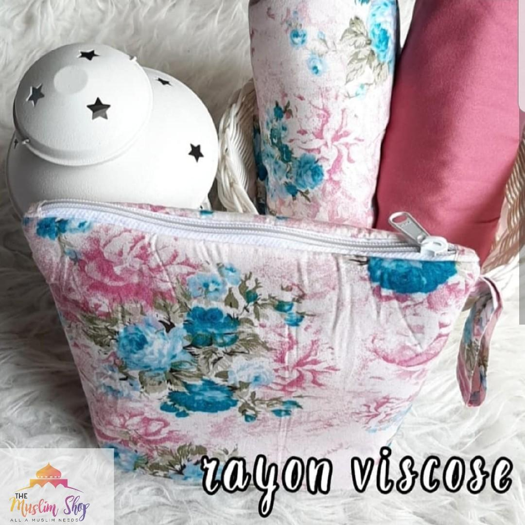 Rayon Viscose Cotton Telekung