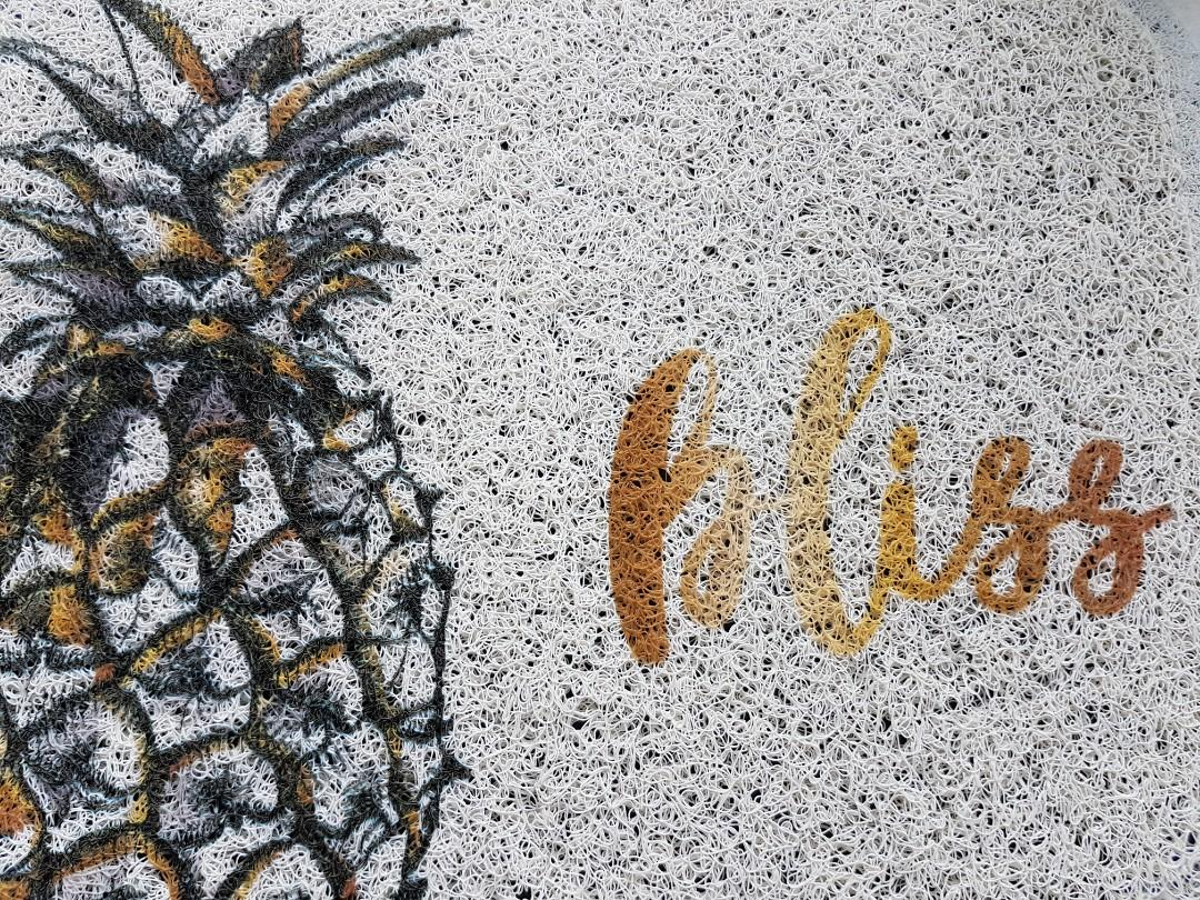 Instock Pineapple Bliss door mat