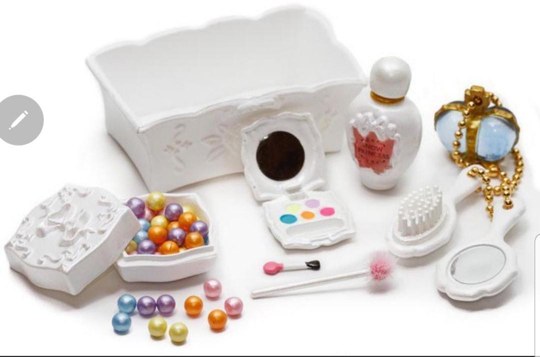 Re-ment 絕版食玩 Petit Cosmetic 化妝品 全4種連白色SP 仿Anna Sui