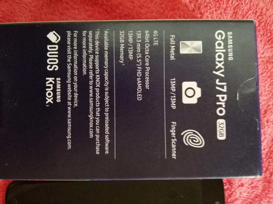 Samsung Galaxy J7 Pro (2nd Hand), Mobile Phones & Tablets, Android