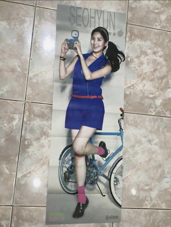 Snsd girls generation goobne poster smtown korea kpop