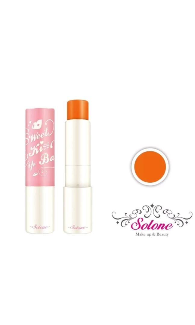 🆕️Solone Sweet Kiss Moisturizing Tinted Lip Balm 3.8g