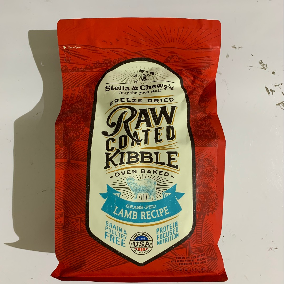 Stella & Chewy's Freeze Dried Raw Coated Lamb Dry Dog Food