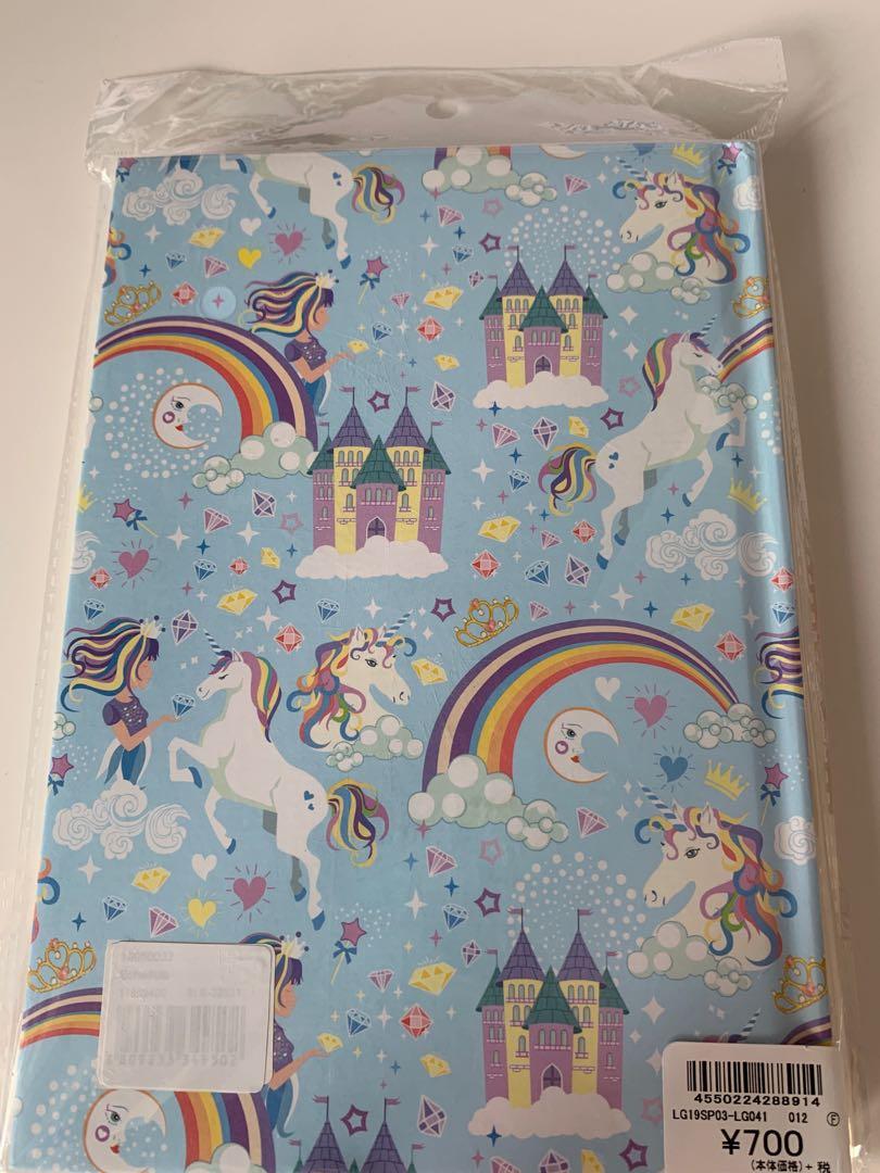 Sweet Japan Rainbow Unicorn undated planner