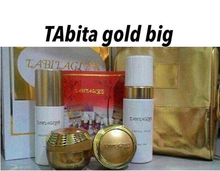 Tabita gold exclusive set