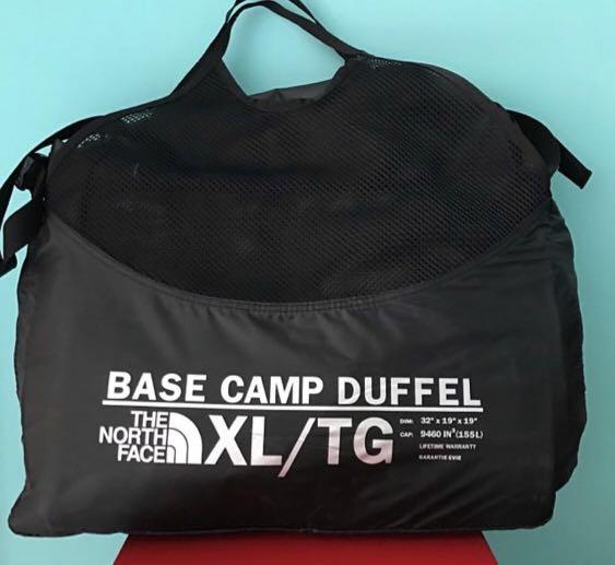 6564d7f72 The North Face Base Camp Duffel Bag XL