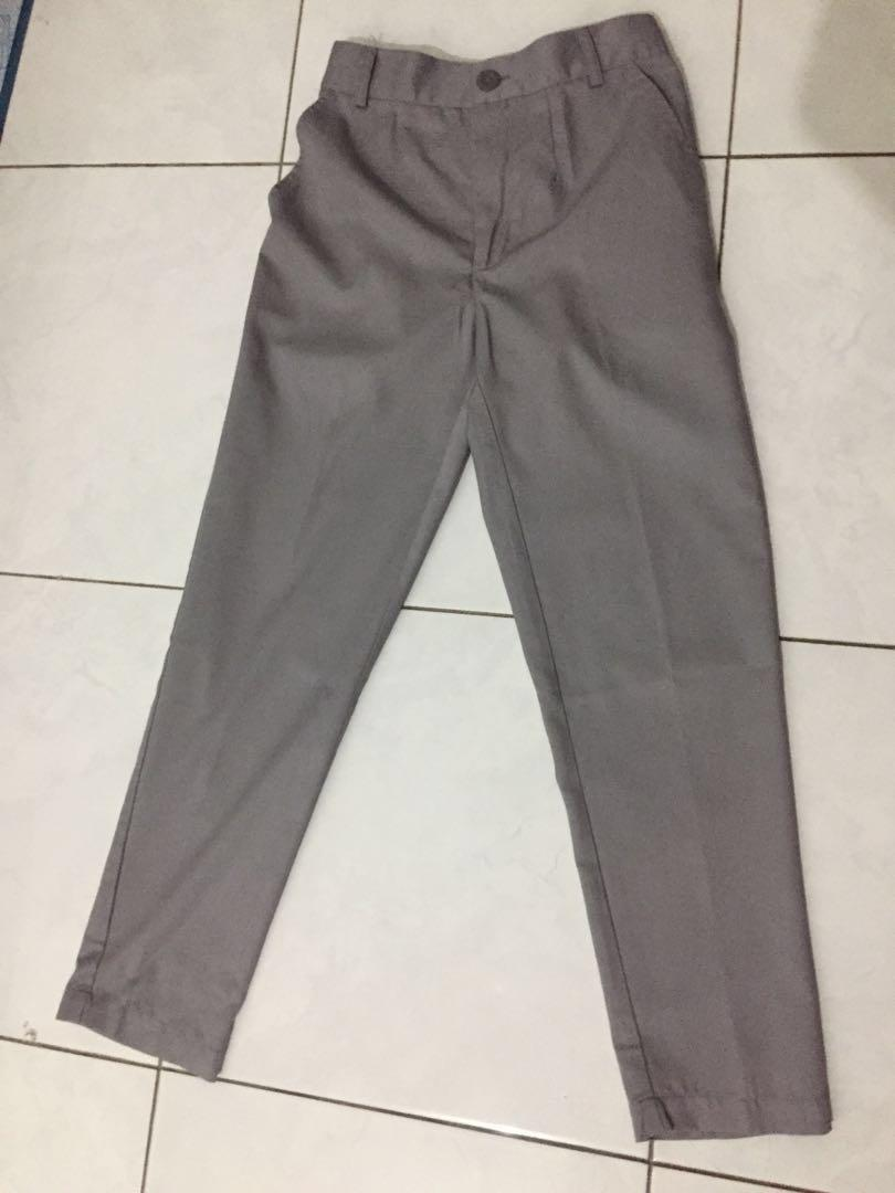 Then blank - chino pants grey