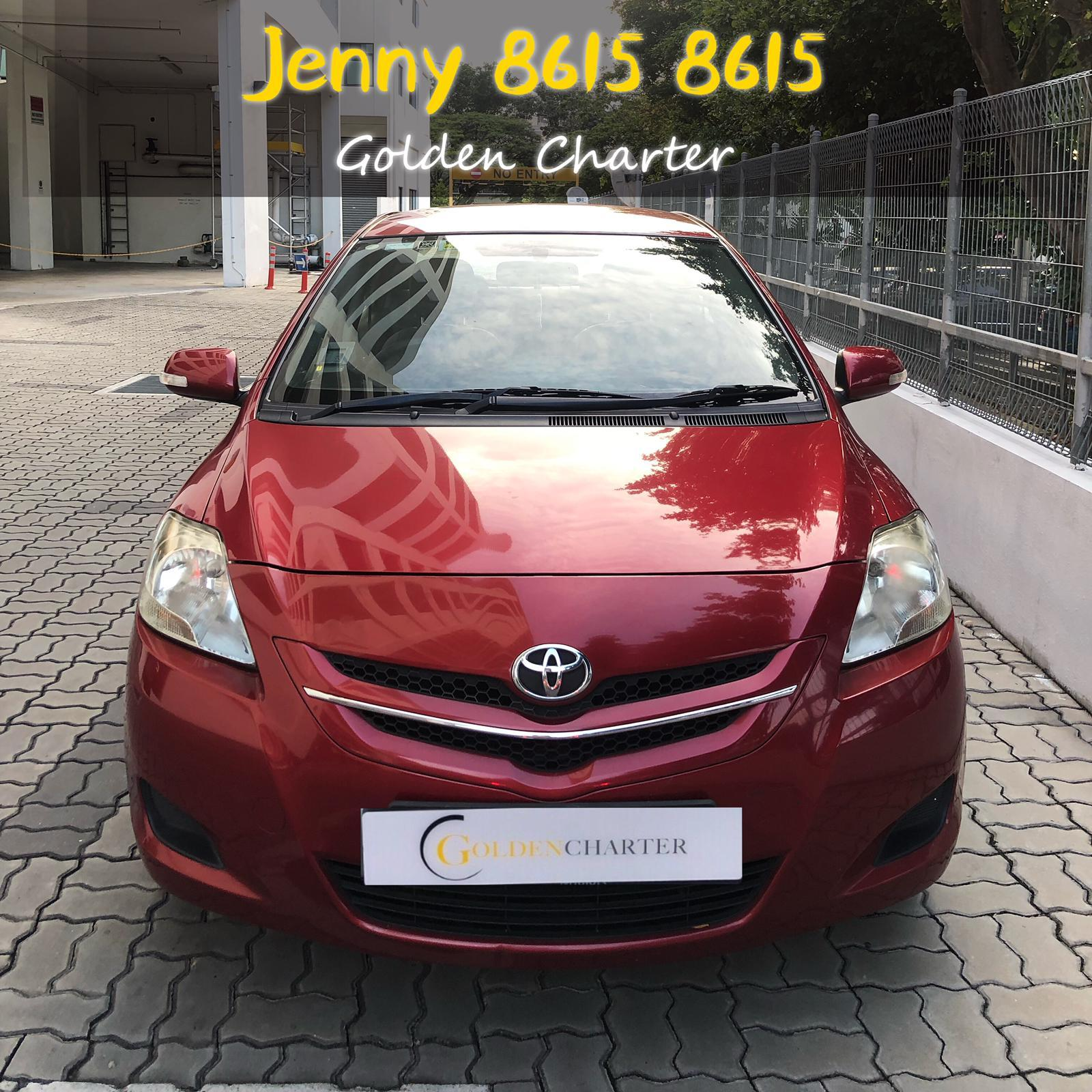 Toyota Vios 1.6a Go-jek grab personal use cheap car for rent rental promo