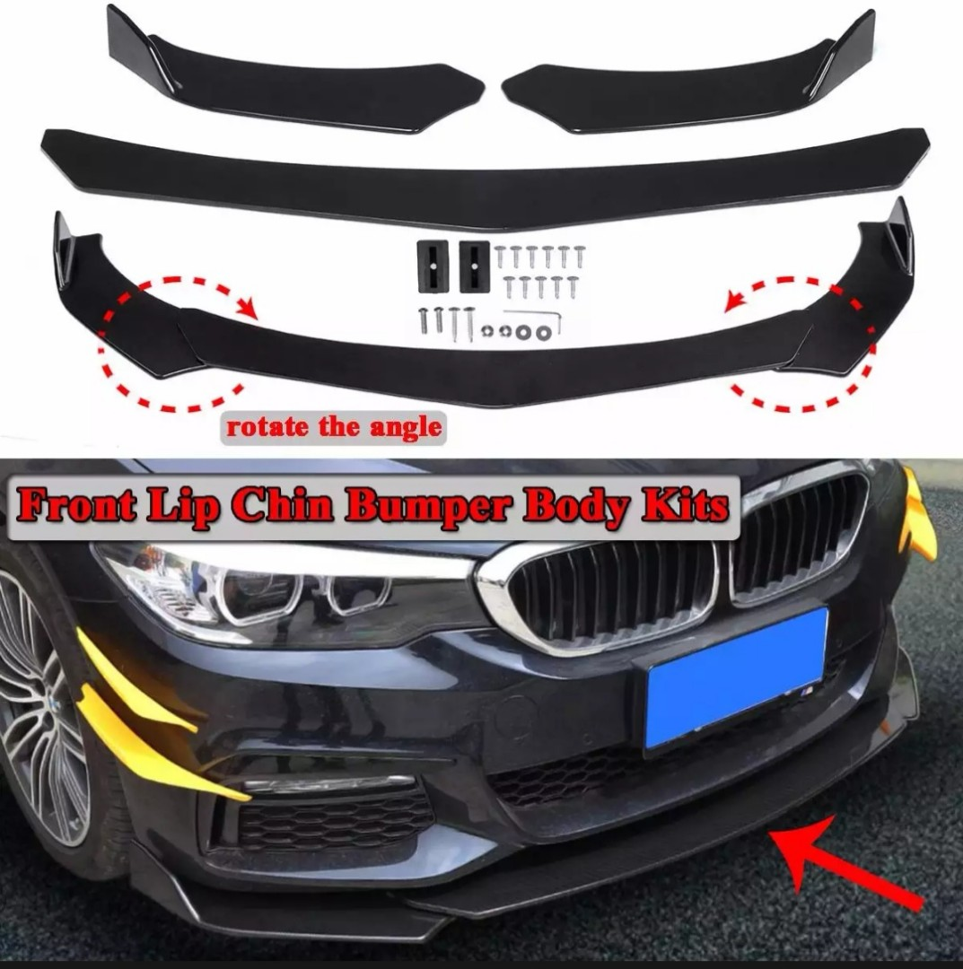Universal Front Lip For Cars Car Accessories Accessories