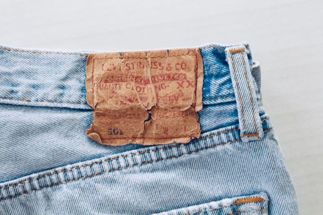 """Vintage Levi's """"Daisy Duke"""" High Waisted Denim Shorts"""