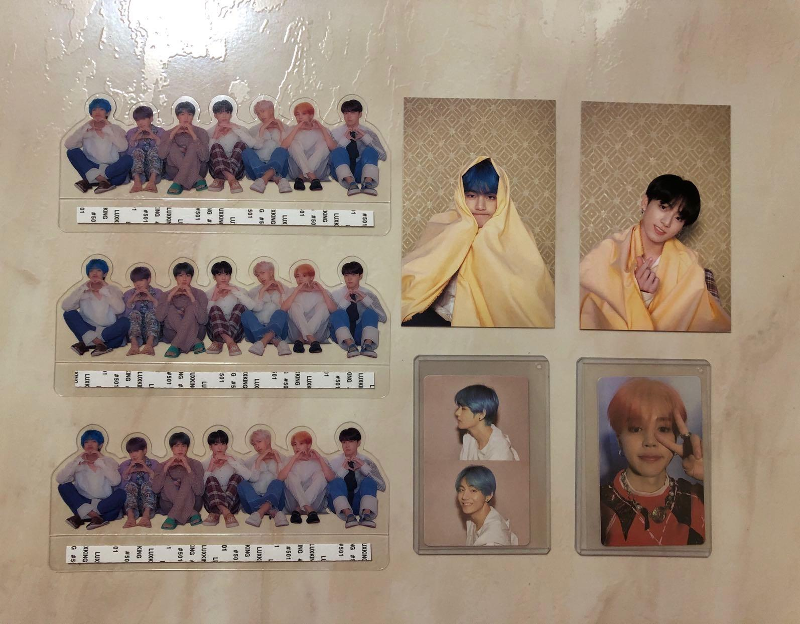 [WTS] Bts MOTS Persona Photocard / Postcard / Clear Photo Picket