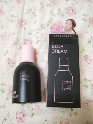 🚚 Pink by pure Beauty 粉透肌潤白粉凝霜SPF15