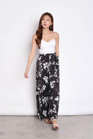 🚚 Floral HIGH WAISTED Pants - TOPAZETTE