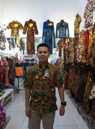 Batik kemeja cotton