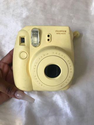 Yellow Fujifilm Instax Mini 8 *REDUCED*