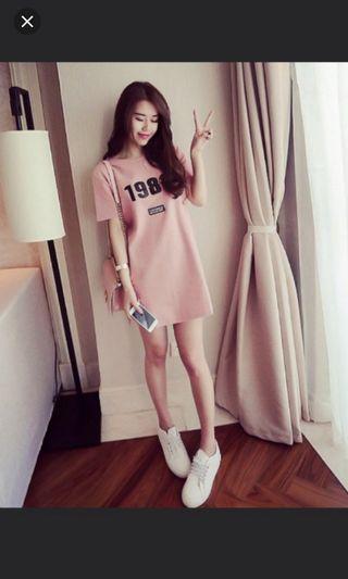 Dusty Pink Dress #MRTPunggol