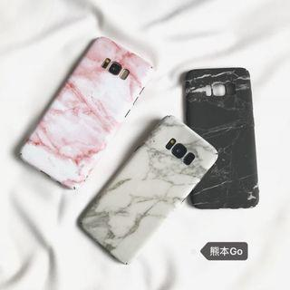 Samsung S7 Pink Marble Phone Cover
