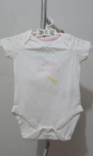 Mothercare bodysuits/baju bayi/jumper