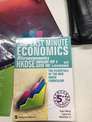 Last Minute Economics