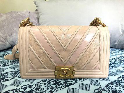 Chanel boy / Chanel in pink / Chanel 25cm