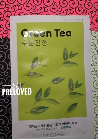 Missha - Airy Fit Sheet Mask Green Tea