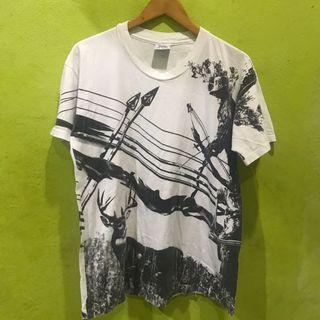 vintage overprint shirt