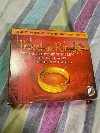 The lord of the rings soundtrack cd