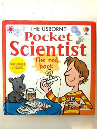 🚚 The Usborne Pocket Scientist - the red book