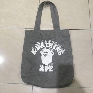 A Bathing Ape reversible Tote Bag