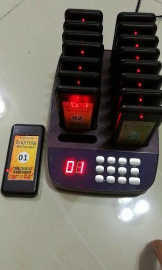 Restaurant wireless Calling System