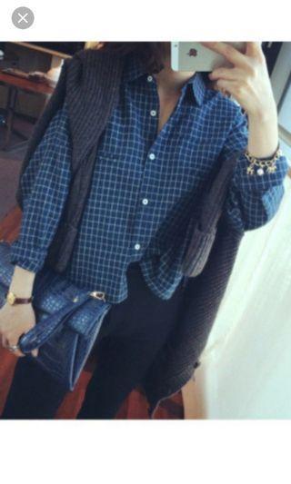 Checkered Shirt #MRTPunggol