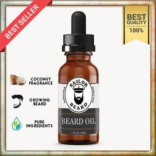 Sailor Beard Oil Penumbuh Brewok Jambang Kumis