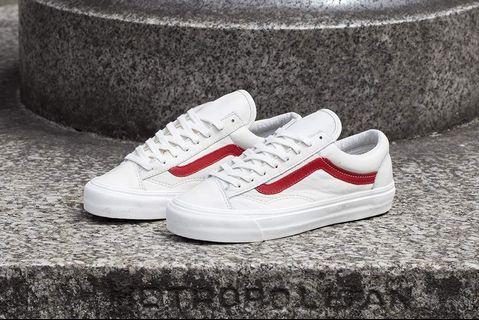 Vans Style 36 Marshmallow/Racing Red