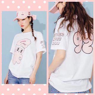 Miss vivi girl ~韓國流行印兔子T恤. 年輕 時尚 /F