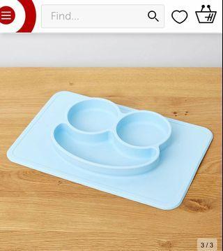 [澳洲直送]全新BB 矽膠防滑餐墊 餐盤 餐碟 silicone plate